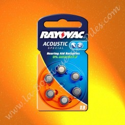 Pile Auditive Rayovac HA13...