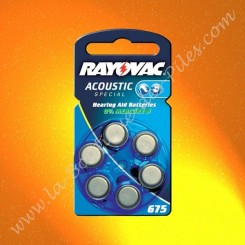 Pile Auditive Rayovac HA675 Acoustic spécial