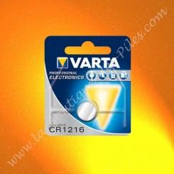 Pile Lithium CR1216 Varta