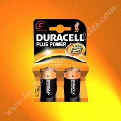 Duracell, Pile Alcaline LR14 C Duracell Plus Power