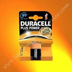 Pile Duracell, Pile Alcaline 6LR61 Duracell Plus Power