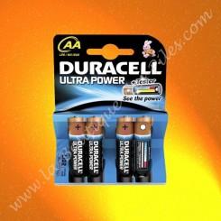 Pile Alcaline LR06 AA Duracell Ultra Power