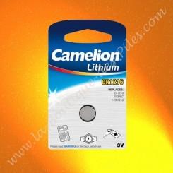Pile Lithium CR1216 Camelion