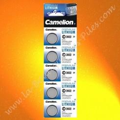 Pile Lithium CR2032 Camelion
