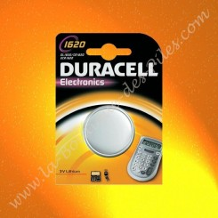 Pile Lithium CR1620 Duracell Electronics