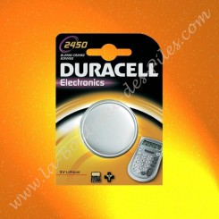 Pile Lithium CR2450 Duracell Electronics