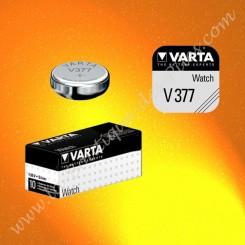Pile V377 Varta, pile Oxyde d'Argent SR626SW