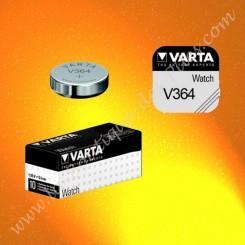 Pile V364 Varta, pile Oxyde d'Argent SR621SW