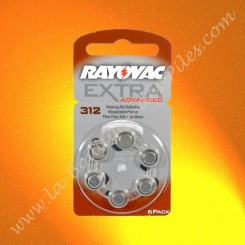 Pile Auditive Rayovac Extra 312 Advanced