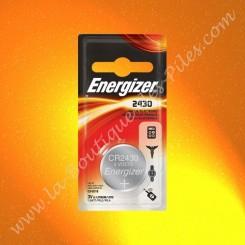 Pile Lithium CR2430 Energizer