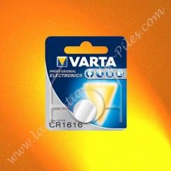 Pile Lithium CR1616 Varta