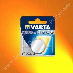 Pile Lithium CR2450 Varta
