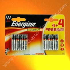 Pile Alcaline LR03 AAA Energizer Ultra+
