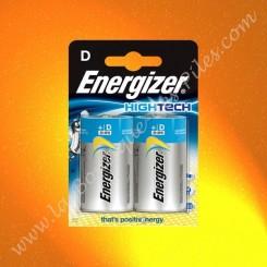 Pile Alcaline LR20 D Energizer High Tech, Blister de 2 piles