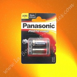 Pile Lithium 2CR5 Panasonic Power Photo Lithium