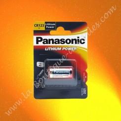 Pile Lithium CR123 Panasonic Lithium Power