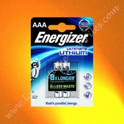 Pile Energizer Ultimate Lithium L92 AAA, Blister de 2 piles
