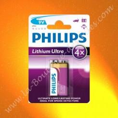 Pile Lithium Ultra Philips 6lr61