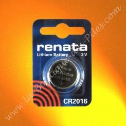 Pile Lithium CR2016 Renata