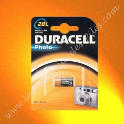 Pile Lithium 28L Duracell Ultra Photo