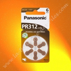 Pile Auditive Panasonic PR312