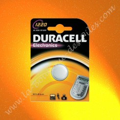 Pile Lithium CR1220 Duracell Electronics