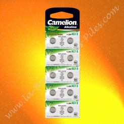 Piles bouton AG13 Camelion
