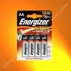 Pile Alcaline LR06 AA Energizer Ultra+ 1,5 volts