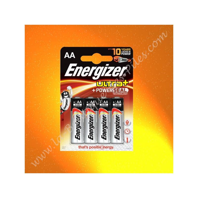 Pile Alcaline LR06 AA Energizer Ultra+ 1,5 volts