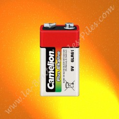 Pile 9 volts 6LR61 Camelion