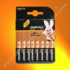 Pile LR03 AAA Duracell Plus Power 1,5 volts