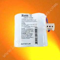 Pile Batli06 compatible Daitem