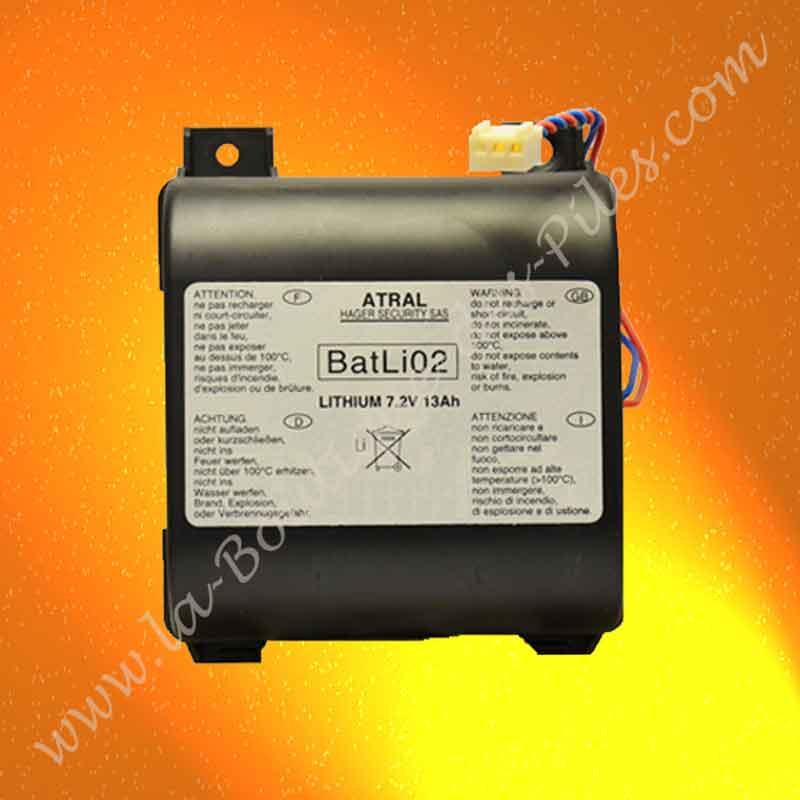 Pile Batli02 Daitem D8000, DP8000, D14000