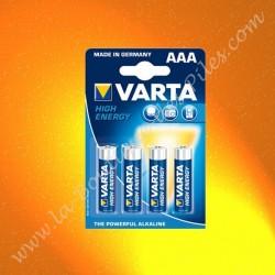 Pile Varta High EnergY AAA LR03