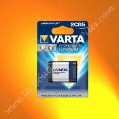 Pile Lithium 2CR5 Varta