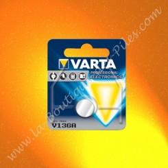 V13GA Pile Varta V13GA 1,5 volts