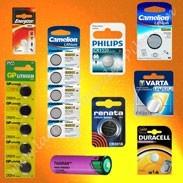 Piles Lithium, piles toutes tailles, piles toutes marques, Varta, Camelion, Duracell,Batsecur
