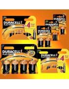 Pile alcaline Duracell plus power, pile alcaline longue durée