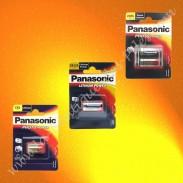 pile Panasonic, piles Lithium
